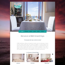 AmareOrtigia bed and breakfast, sito internet, web design,